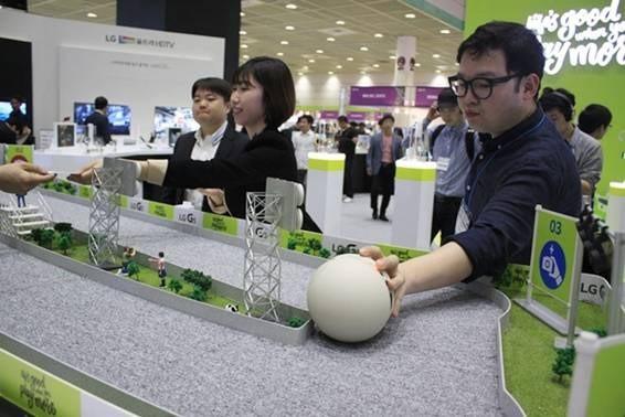 Triển lãm công nghệ thông tin lớn nhất Hàn Quốc chính thức khai mạc ảnh 1