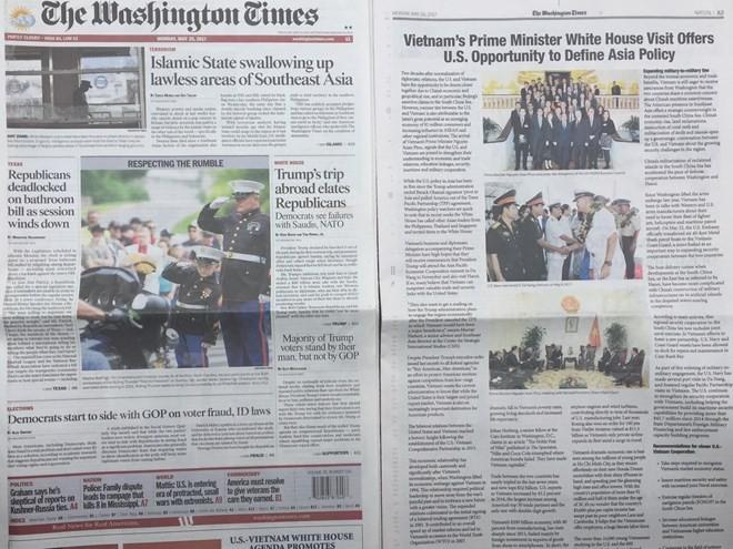 Thông điệp của Thủ tướng Nguyễn Xuân Phúc trên The Washington Times ảnh 1