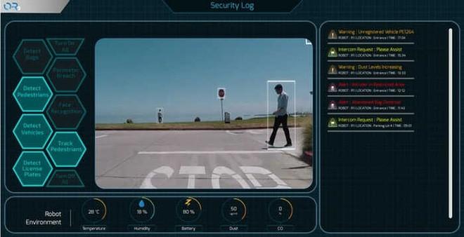 Robot an ninh tự động của Singapore: Vừa tuần tra mặt đất lại vừa biết điều khiển UAV để quan sát từ trên không - Ảnh 3.