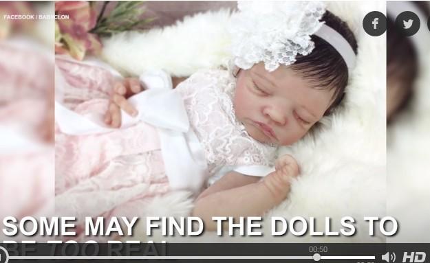 Lạ lẫm hình ảnh robot giống y em bé sơ sinh ảnh 6