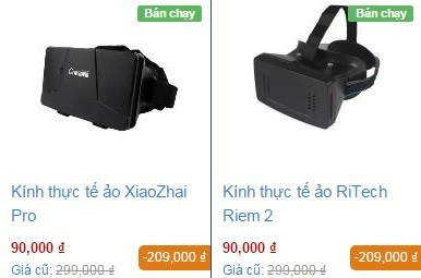 Kính thực tế ảo Trung Quốc giá rẻ ế ẩm ảnh 1