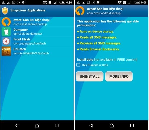 Ứng dụng nhỏ gọn giúp smartphone tránh xa phần mềm gián điệp ảnh 3