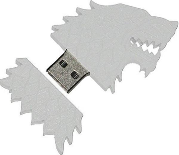 USB hình chó sói trong Trò chơi Vương quyền. Dung lượng 4GB, giá 7,99 USB