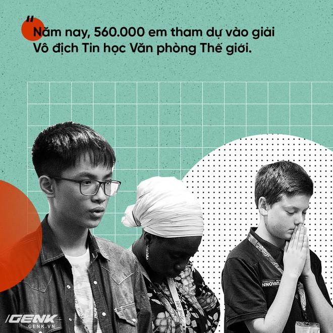 Tuyển Việt Nam giành giải Ba Microsoft Word 2017 thế giới ảnh 6