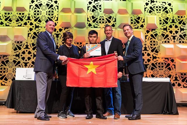 Tuyển Việt Nam giành giải Ba Microsoft Word 2017 thế giới ảnh 10