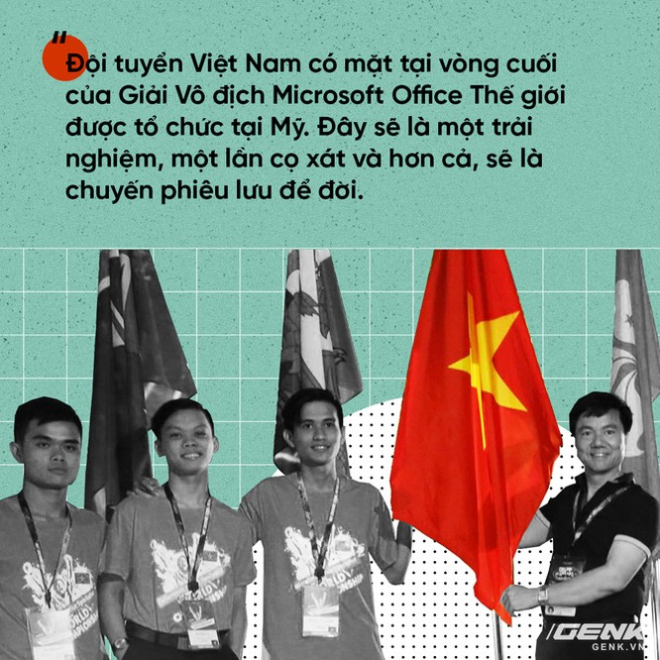 Tuyển Việt Nam giành giải Ba Microsoft Word 2017 thế giới ảnh 1