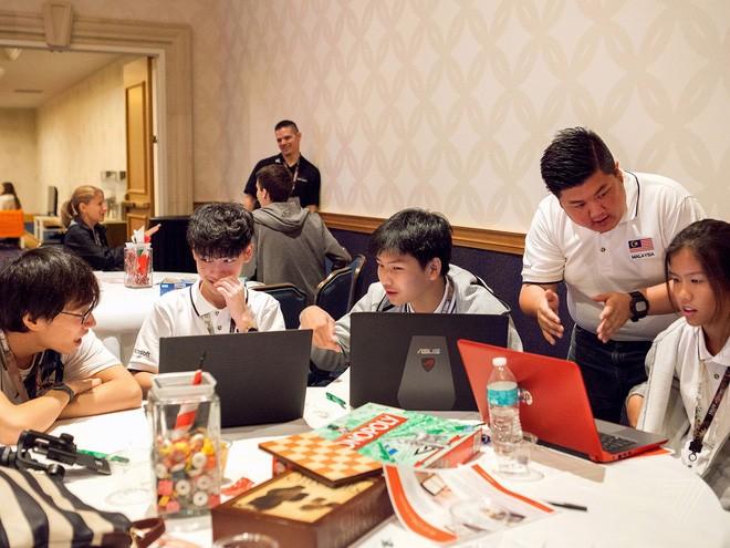 Tuyển Việt Nam giành giải Ba Microsoft Word 2017 thế giới ảnh 3