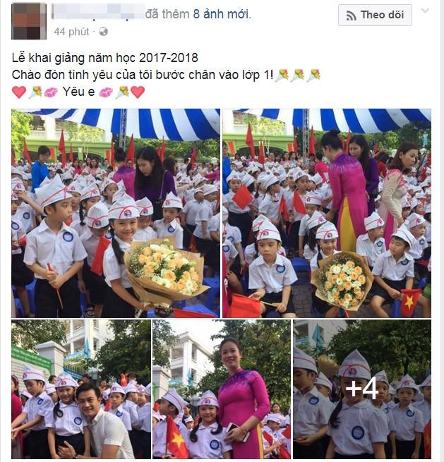 Facebook ngập tràn hình ảnh bố mẹ khoe con ngày khai giảng năm học mới - 4