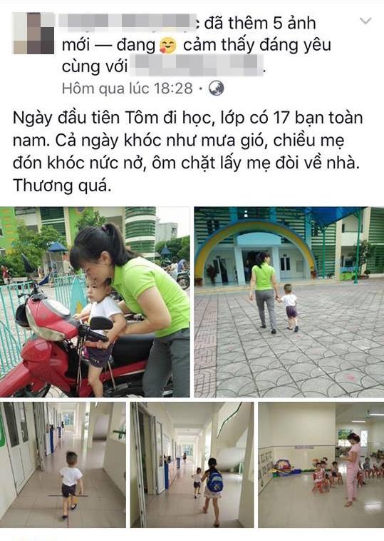 Facebook ngập tràn hình ảnh bố mẹ khoe con ngày khai giảng năm học mới - 10