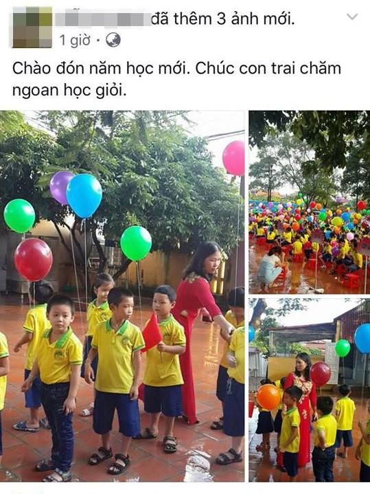 Facebook ngập tràn hình ảnh bố mẹ khoe con ngày khai giảng năm học mới - 1