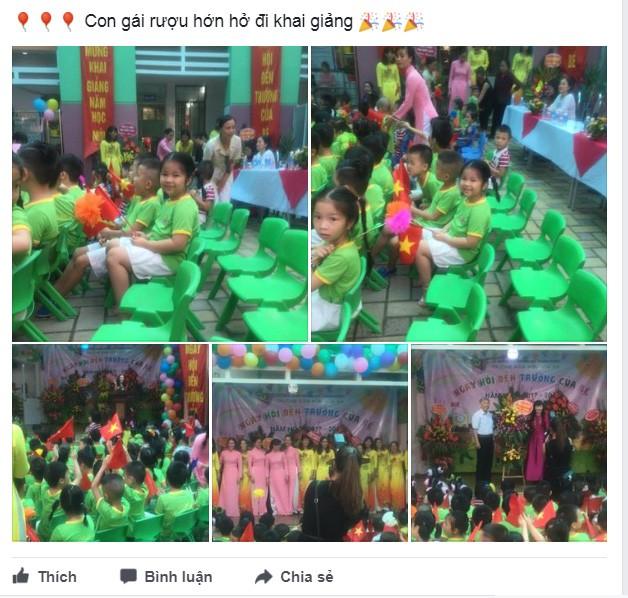 Facebook ngập tràn hình ảnh bố mẹ khoe con ngày khai giảng năm học mới - 11