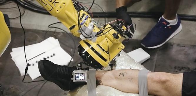 Cận cảnh robot xăm công nghiệp đầu tiên trên thế giới ảnh 3