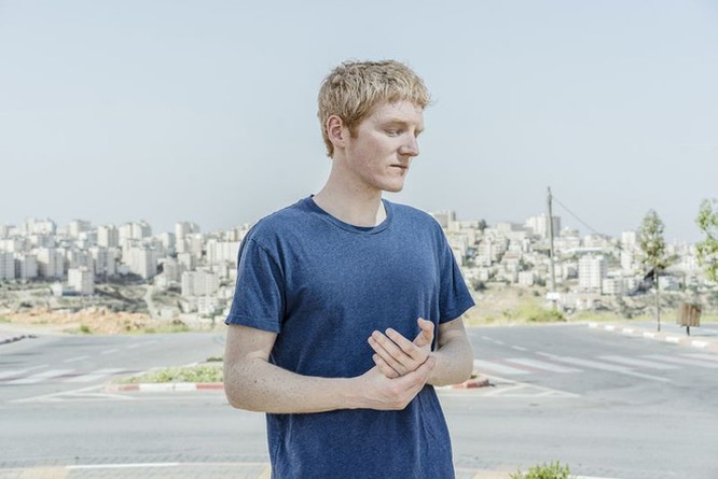 Patrick Collison trong chuyến thăm Israel
