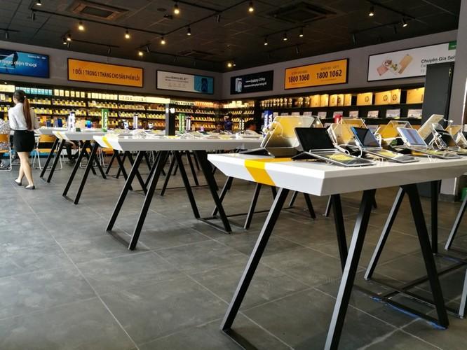 Bên trong cửa hàng mới toanh của Thế Giới Di Động: Đẹp, sang, ít nhân viên ảnh 1