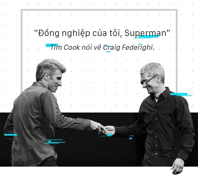 Chân dung Craig Federighi, người kế thừa thầm lặng của Steve Jobs tại Apple - Ảnh 10.