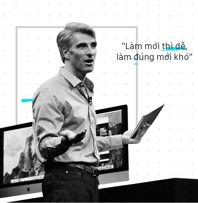 Chân dung Craig Federighi, người kế thừa thầm lặng của Steve Jobs tại Apple - Ảnh 18.
