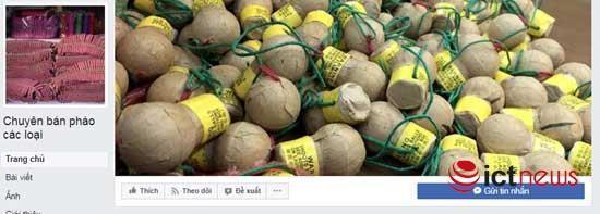 Súng đạn, thuốc nổ rao bán vô tư trên Facebook ảnh 1