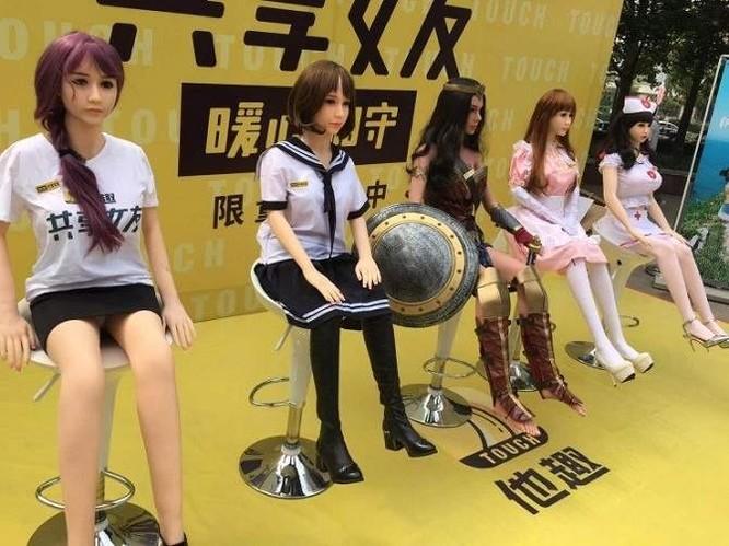 """Ứng dụng chia sẻ búp bê tình dục của Trung Quốc bị """"cấm cửa"""" sau 4 ngày ra mắt ảnh 2"""