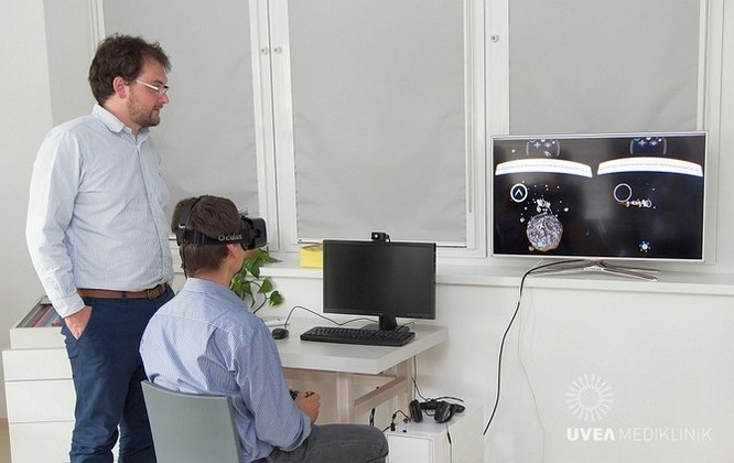 Slovakia: Sử dụng kính thực tế ảo để chữa bệnh về mắt ảnh 1