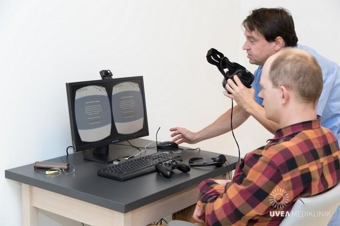 Slovakia: Sử dụng kính thực tế ảo để chữa bệnh về mắt ảnh 8