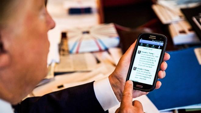 """Ông Donald Trump: """"Tôi sẽ không thắng cử được nếu không có Twitter"""" ảnh 1"""