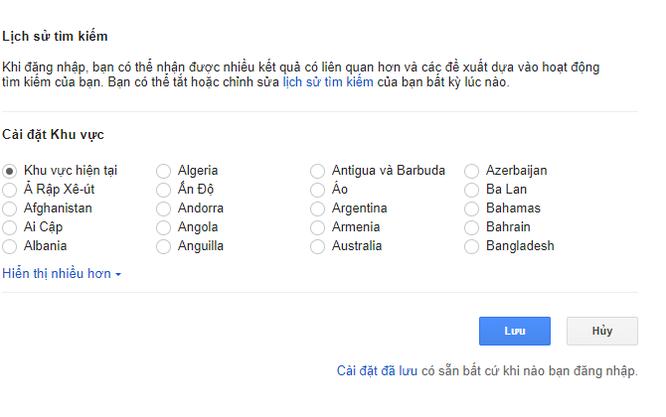 Google không còn cho phép bạn đổi tên miền để tìm kiếm các quốc gia khác ảnh 1