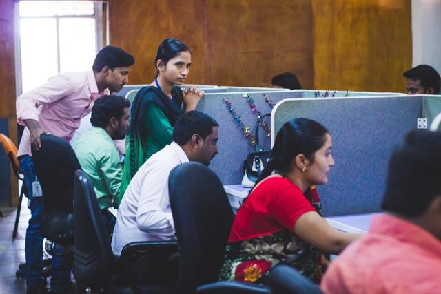 Văn phòng của IndiVillage tại Ấn Độ (ảnh: IndiVillage)