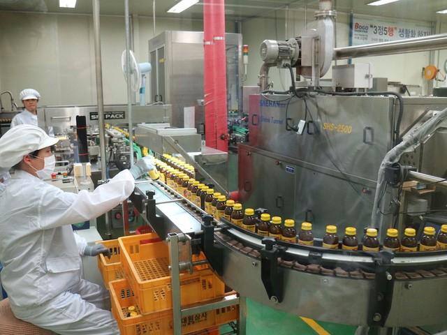 Công ty sản xuất tại Hàn Quốc