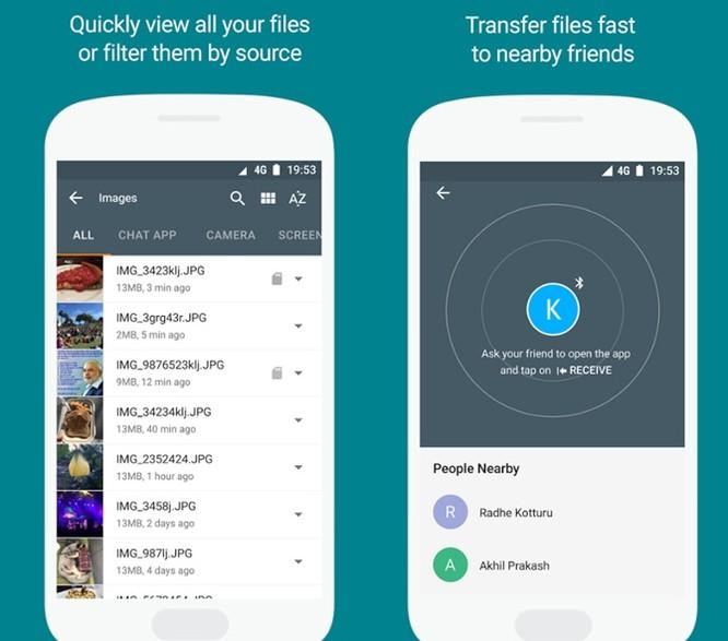 Google giới thiệu Files Go, trình quản lý tập tin miễn phí cho Android