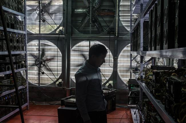 Hình 8: Những cánh quạt tản nhiệt loại lớn phục vụ cho công việc đào Bitcoin