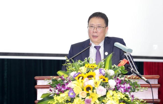 GS.VS. Châu Văn Minh - Chủ tịch Viện Hàn lâm KH&CN Việt Nam phát biểu