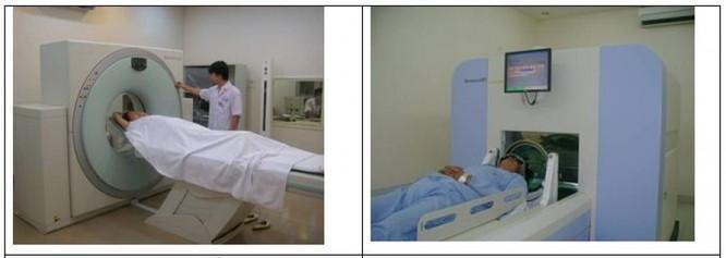 Tiến hành xạ phẫu dao gamma quay tổn thương di căn não