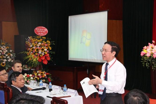 Đại diện của Việt Nam chia sẻ kinh nghiệm