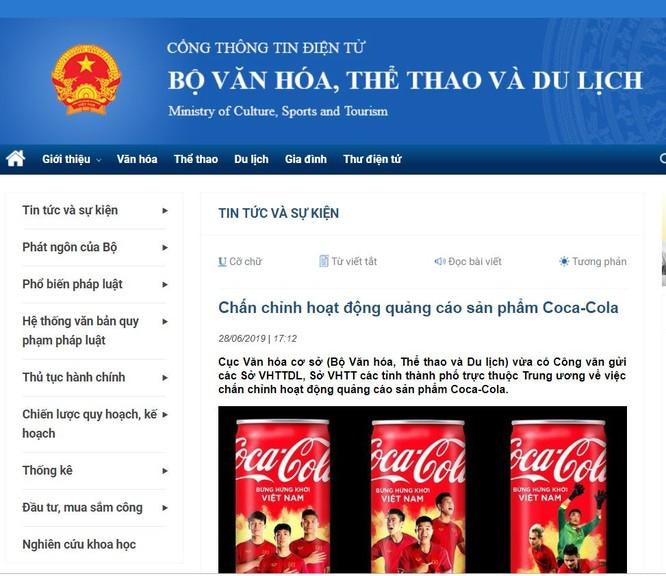 Web của Bộ VHTTDL đăng nội dung công văn chấn chỉnh của Cục Văn hóa cơ sở
