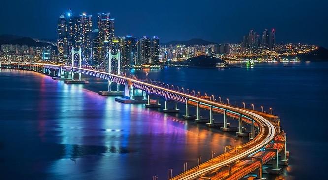 Thành phố Busan của Hàn Quốc (ảnh: asung.edu.vn)