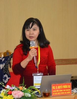 PGS.TS. Nguyễn Phương Nga – Giám đốc TT KĐCLGD (ảnh:cea-avuc.edu.vn)