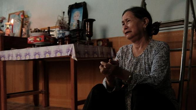 Mẹ Lưu Thị Hinh