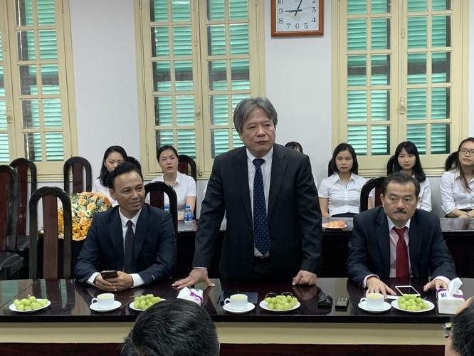 GS. Trần Bình Giang –Giám đốc Bệnh viện Hữu nghị Việt Đức