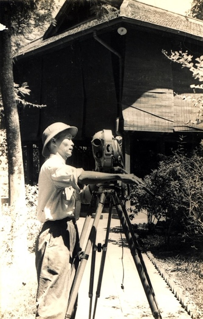 Nhà quay phim quân đội Trần Văn Trà (ảnh NVCC)