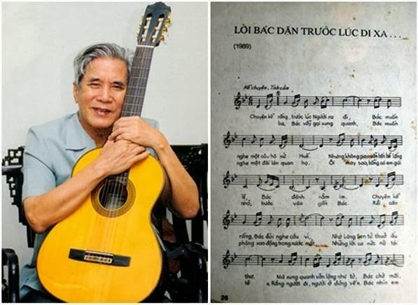 """Nhạc sĩ Trần Hoàn và ca khúc nổi tiếng """"Lời Bác dặn trước lúc đi xa"""""""