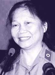 Thiếu tá Ngô Thị Oanh