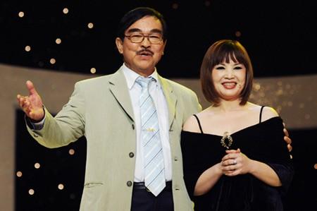 NSND Thế Anh và NSND Lan Hương - 2 diễn viên trong phim
