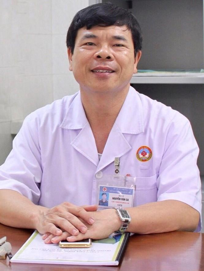 Đại tá, bác sĩ Nguyễn Văn Ca – Chủ nhiệm khoa Tâm thần, Bệnh viện Quân y 175