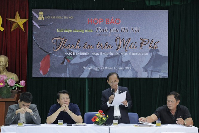 Nhạc sĩ Nguyễn Lân Cường giới thiệu về chương trình