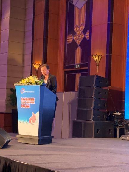Bà Gabi Weinhold_đại diện tổng lãnh sự CHLB Đức phát biểu