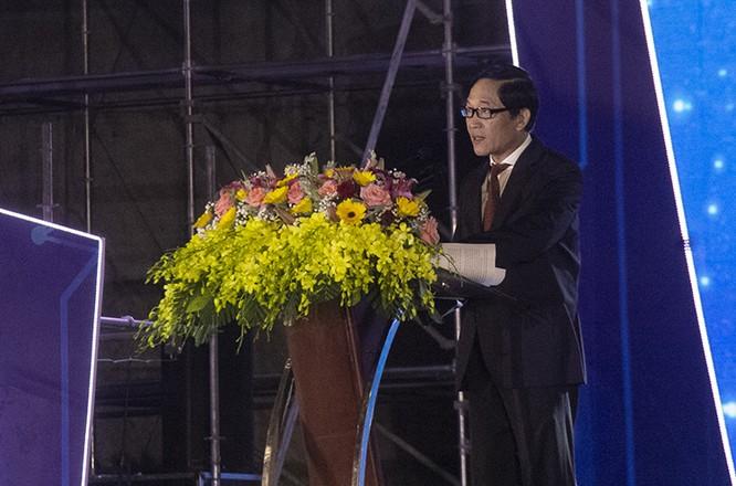 Thứ trưởng Bộ KH&CN Trần Văn Tùng phát biểu khai mạc TechDemo 2019
