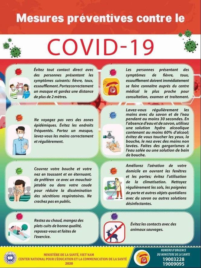 Thêm một thứ tiếng nữa trong hướng dẫn phòng, chống COVID-19 ảnh 1