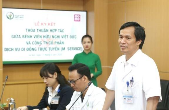 PGS.TS. Đồng Văn Hệ - Phó Giám đốc Bệnh viện Hữu nghị Việt Đức