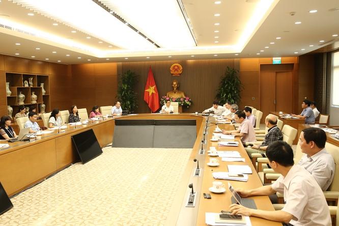 Đại diện các bộ, ngành dự cuộc họp về chính sách thanh toán BHYT đối với thuốc phát minh