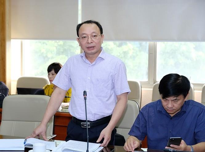 Ông Nguyễn Nam Liên - Vụ trưởng Vụ Kế hoạch – Tài chính (Bộ Y tế)